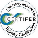 Laboratory approved by Railway Certification